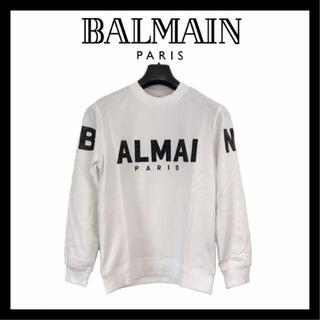 バルマン(BALMAIN)の【再入荷】BALMAIN スウェット プルオーバートレーナー 2XL 8280(スウェット)