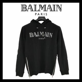 バルマン(BALMAIN)の【再入荷】新品 BALMAIN スウェット フード付き パーカー L 8296(スウェット)