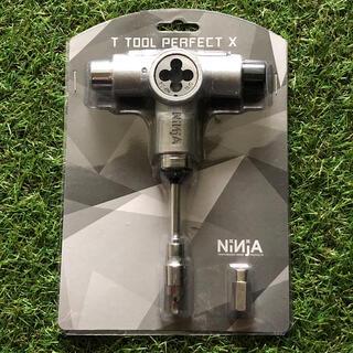 NINJA T TOOL PERFECT X シルバー(スケートボード)