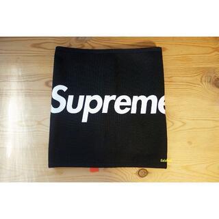シュプリーム(Supreme)の新品 Supreme 15AW Fleece Neck Gaiter 黒(ネックウォーマー)
