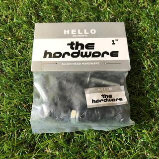 THE HARDWARE ザ ハードウェア ビス、ナット(スケートボード)