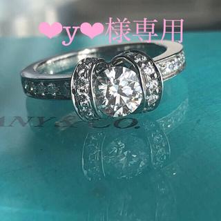 ティファニー(Tiffany & Co.)のティファニーダイヤモンドリボンリング(リング(指輪))