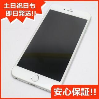 アイフォーン(iPhone)の美品 au iPhone6 PLUS 64GB シルバー 白ロム(スマートフォン本体)