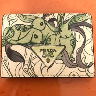 プラダ(PRADA)のPRADA   うさぎ カードケース 名刺入れ(名刺入れ/定期入れ)