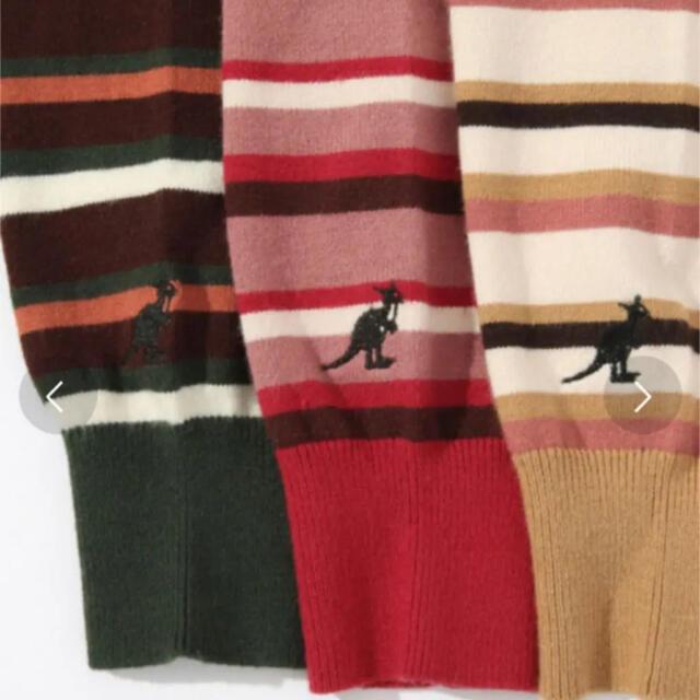 heather(ヘザー)の値下げ Heather カンゴール ハイショックマルチボーダーニット  レディースのトップス(ニット/セーター)の商品写真