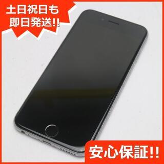 アイフォーン(iPhone)の美品 SOFTBANK iPhone6S 64GB スペースグレイ (スマートフォン本体)