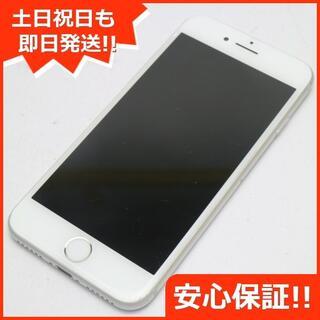 アイフォーン(iPhone)の良品中古 au iPhone8 64GB シルバー (スマートフォン本体)