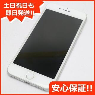 アイフォーン(iPhone)の新品同様 au iPhone8 64GB シルバー (スマートフォン本体)