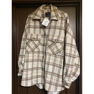 ベルシュカ(Bershka)の新品❤︎Bershkaチェック柄オーバーシャツジャケット(シャツ/ブラウス(長袖/七分))
