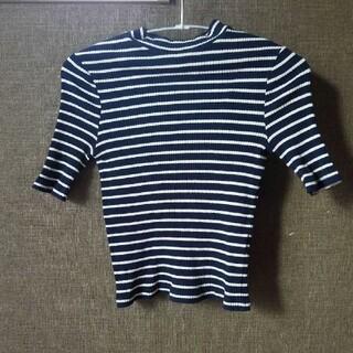 ベルシュカ(Bershka)のBershka ボーダー トップス(Tシャツ(半袖/袖なし))