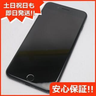 アイフォーン(iPhone)の新品同様 SOFTBANK iPhone7 PLUS 256GB ブラック (スマートフォン本体)