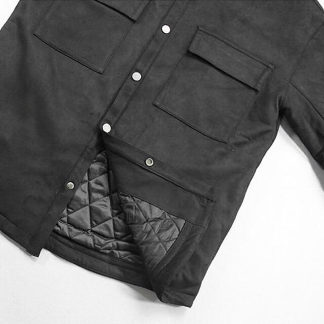 FEAR OF GOD(フィアオブゴッド)のULTRASUEDE SHIRT JACKET / FOG type メンズのジャケット/アウター(ブルゾン)の商品写真