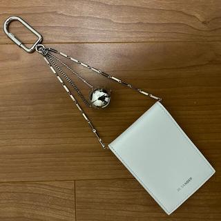 ジルサンダー(Jil Sander)のjilsander  キーリングウォレット ホワイト 新品未使用(財布)