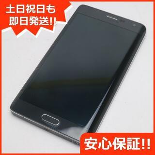 ギャラクシー(Galaxy)の美品 au SCL24 GALAXY Note Edge チャコールブラック (スマートフォン本体)