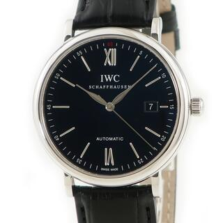 IWC - IWC  ポートフィノ IW356502 自動巻き メンズ 腕時計