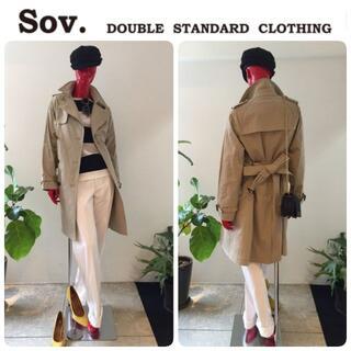 ダブルスタンダードクロージング(DOUBLE STANDARD CLOTHING)の定価52800円 新品 ダブルスタンダード ライナー付 トレンチ 希少34 (トレンチコート)