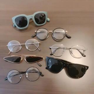 エモダ(EMODA)のサングラス 伊達メガネ 1点1500  2点2500  3点4500(サングラス/メガネ)