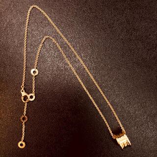 ブルガリ(BVLGARI)の未使用!ブルガリ 750ピンクゴールド ネックレス (ネックレス)