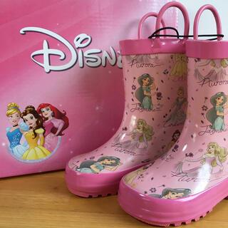 コストコ - 【送料込み】子供用長靴 ディズニープリンセス 15㎝