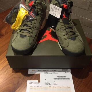 26.5cm NIKE AIR JORDAN 6 TRAVIS SCOTT NI(スニーカー)