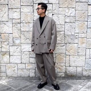 COMOLI - YOKE 19AW Five Colors Plaid セットアップ ジャケット