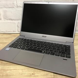 エイサー(Acer)の13インチ モバイルノートPC acer swift3 windows10 新品(ノートPC)