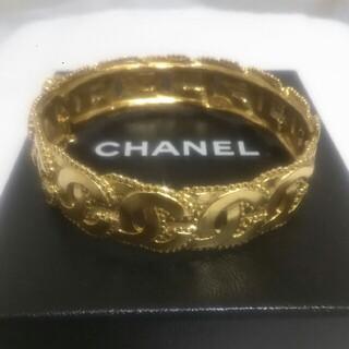 CHANEL - ♡今日明日♡限定です! 美品シャネル ココマークブレスレット バングル 希少