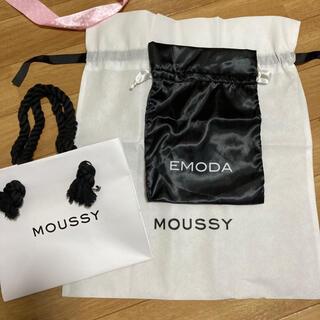 マウジー(moussy)のショッパー ショップ袋(ショップ袋)
