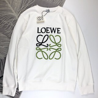 LOEWE - 人気LOEWEロエベ スウェット ホワイト 男女兼用