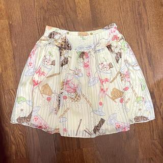 ミルク(MILK)のMILK パフェ柄スカート(ひざ丈スカート)