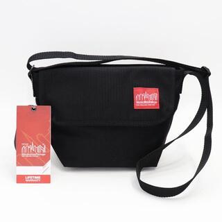 マンハッタンポーテージ(Manhattan Portage)の新品 マンハッタンポーテージ ショルダーバッグ 鞄 ベルクロ付 アウトドア 黒(メッセンジャーバッグ)
