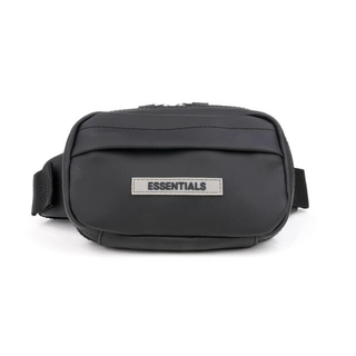 フィアオブゴッド(FEAR OF GOD)の最終値下げ essentials belt bag 黒 新品 未使用(ショルダーバッグ)