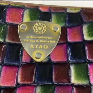 アタオ(ATAO)のアタオ 長財布 シャトルブルー 詳細画像(財布)