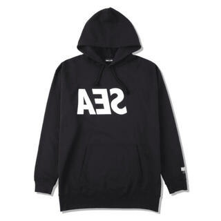 SEA - CASETIFY WIND AND SEA ロゴパーカー黒L hoodie