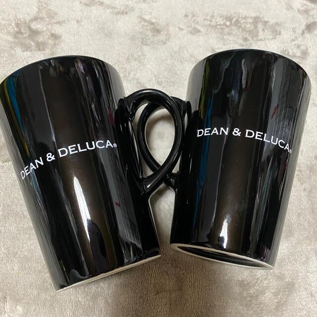 DEAN & DELUCA(ディーンアンドデルーカ)の新品‼️DEAN & DELUCA ラテマグ Black  × 2個 (M) インテリア/住まい/日用品のキッチン/食器(グラス/カップ)の商品写真