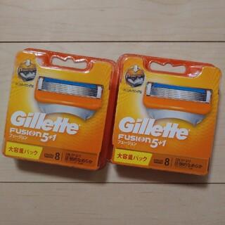 ジレ(gilet)のジレット フュージョン5+1 替刃×2セット(その他)
