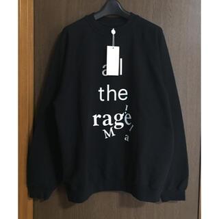 マルタンマルジェラ(Maison Martin Margiela)の黒S新品 メゾン マルジェラ レディース all スウェット シャツ ブラック(ニット/セーター)