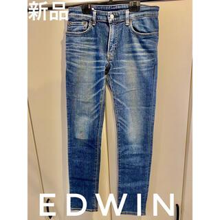 エドウィン(EDWIN)の【新品】Edwin ジーンズ パンツ メンズ 28 牛革 日本製(デニム/ジーンズ)