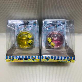ミニオン(ミニオン)の【セット売り】ミニオン オイルマスコット フィギュア キーホルダー 黄色 赤(キーホルダー)
