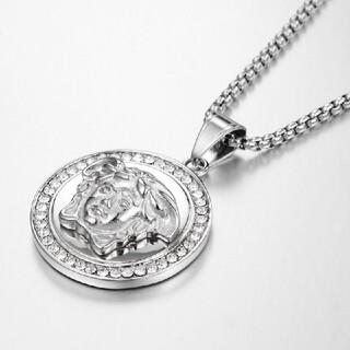 VERSACE - ヴェルサーチ Versace ネックレス シルバー