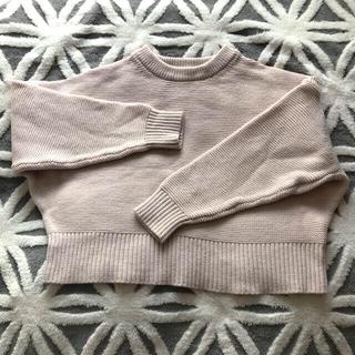 マカフィー(MACPHEE)のMACPHEE 薄ベージュピンク セーター(ニット/セーター)