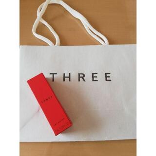 スリー(THREE)のショッパー付 THREE スリー ネイルポリッシュ 限定 クリスマス #X40(マニキュア)