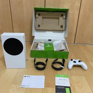 マイクロソフト(Microsoft)のXBOX SERIE S 延長保証 & エコバッグ付き!!!(家庭用ゲーム機本体)