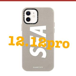 アイフォーン(iPhone)のWIND AND SEA Casetify 12 12pro(その他)
