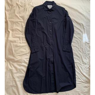 YAECA コンフォートシャツドレス ダークネイビー M 68121