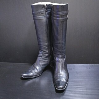 イング(ing)の美品⭐️ing ブラックブーツ(ブーツ)