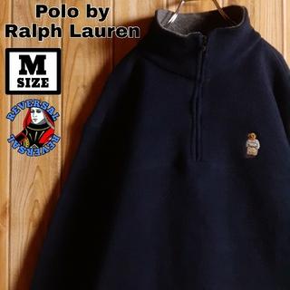 ポロラルフローレン(POLO RALPH LAUREN)のPolo by RalphLauren ポロベア ハーフジップ フリース M(ブルゾン)