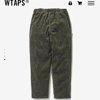 wtaps chef trousers cotton corduroy od
