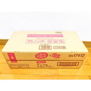 ネスレ(Nestle)のキットカット 毎日のナッツ&グランベリー ルビー 87g 12個セット(菓子/デザート)