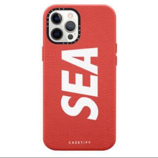 アイフォーン(iPhone)のwind and sea casetify iPhone 12 渋谷限定(iPhoneケース)